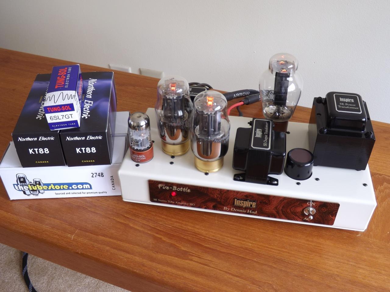 Dennis-Had-Inspire-KT88-Amp-3/ Northern Electric KT88 tubes