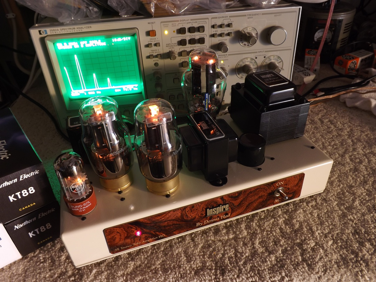 Northern Electric KT88 and Inspire SE Amp