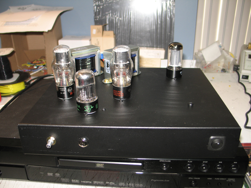 6G6 Amp-front/ top diy tube audio forums