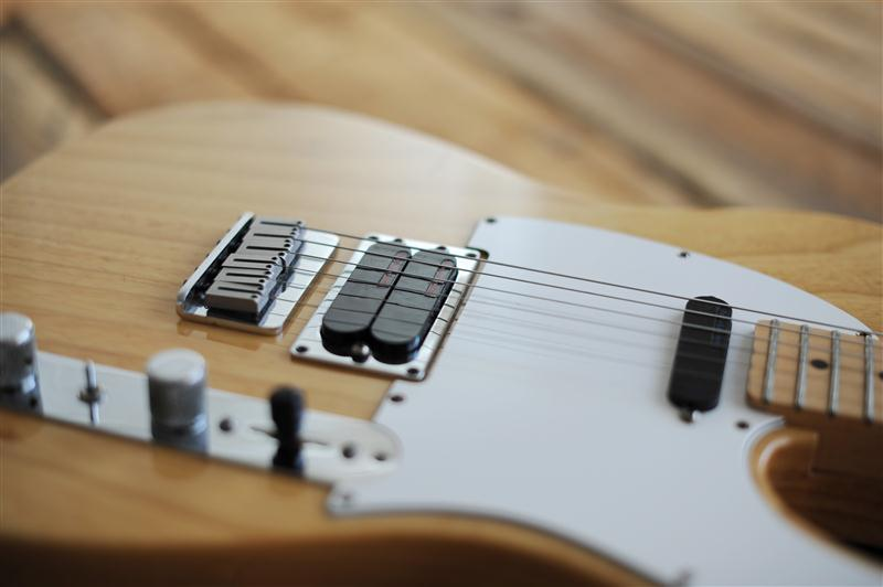 Telecaster body closeup