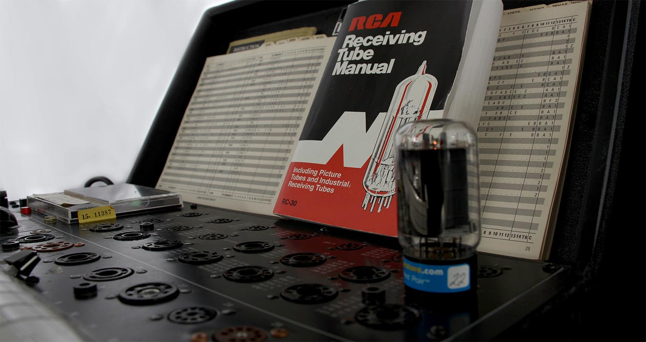 Tube-Tester-Large/ tube tester rca manual