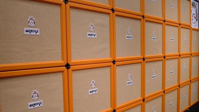 Wall of Orange/ Choosing the right size amp