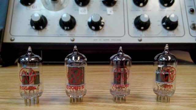 JJ Electronic ECC83 dual triode tubes