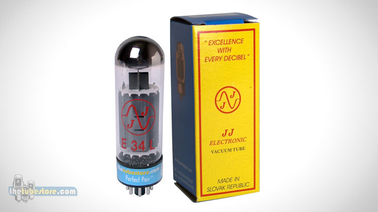 JJ E34L Tube Review EL34