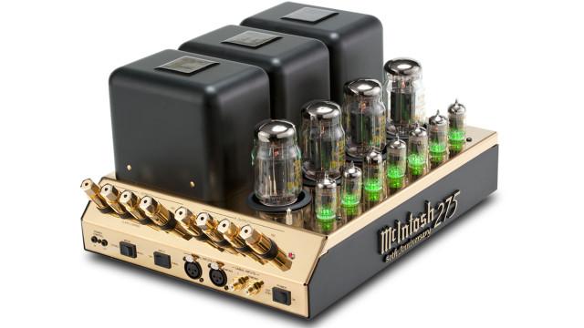 McIntosh MC275 Tube Amp Production