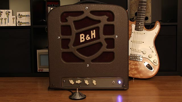 reduce reuse recycle diy guitar amp from salvaged parts. Black Bedroom Furniture Sets. Home Design Ideas