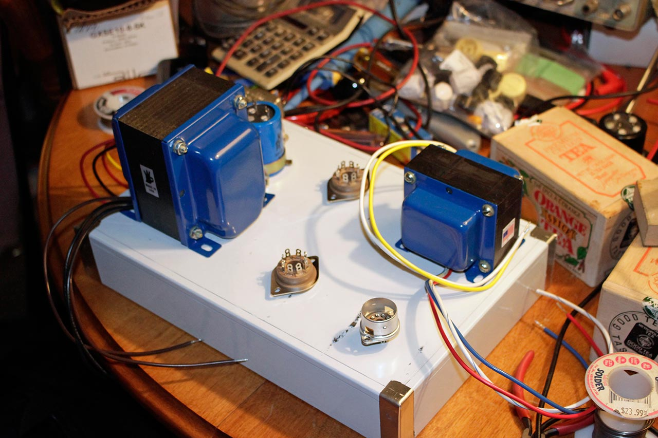If You Cant Find It Build Diy Amp Part 2 Wiring Two Ac Transformers In Series Producer 88 Figure 1