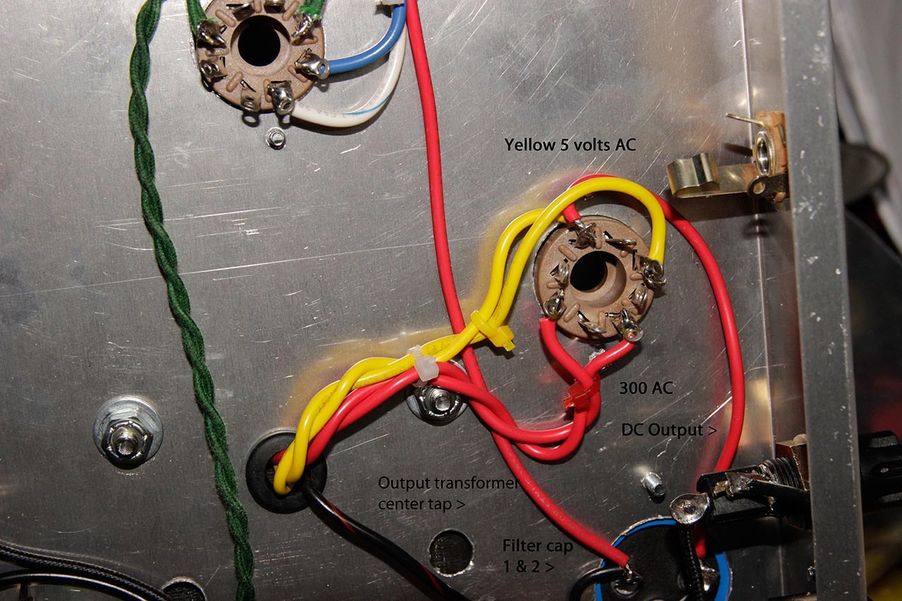 If You Cant Find It Build Diy Amp Part 2 Wiring Two Ac Transformers In Series Figure 9