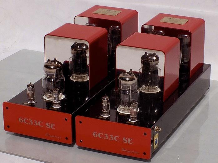 Triode 6C33C SE Amp