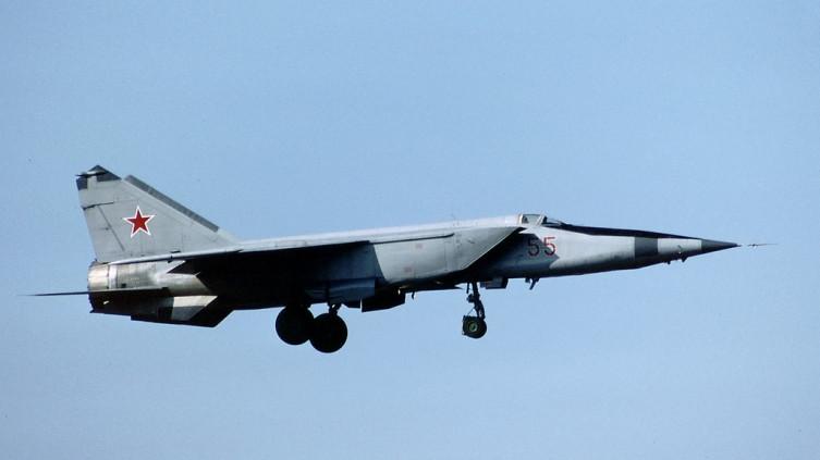 MiG-25 jet