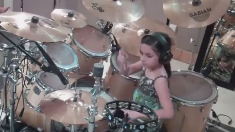 10 Year Old Drummer