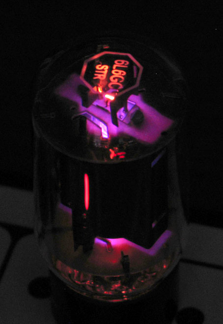 Bad Purple Vacuum Tube Glow