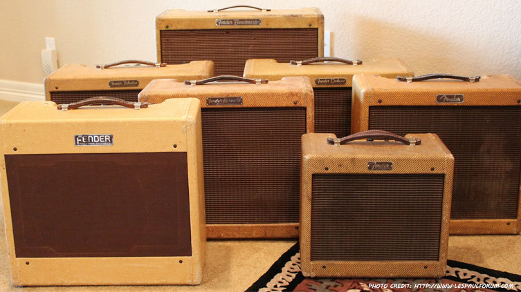 What Tubes Do In Most Early Fender Tweed Amps | thetubestore
