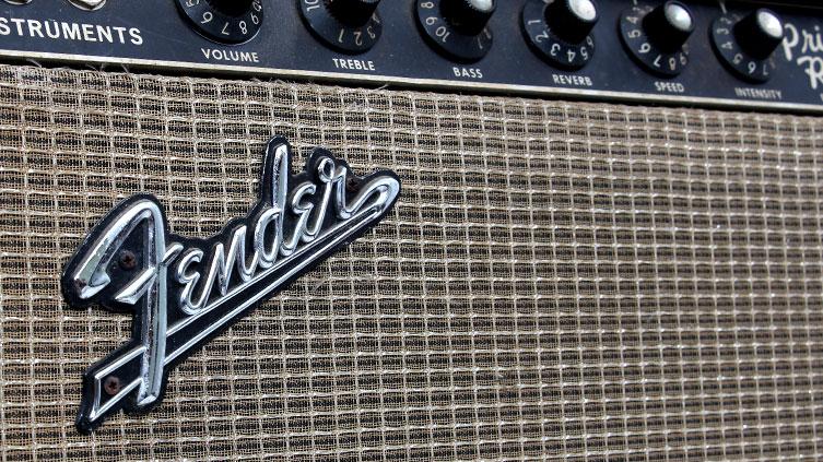 Vintage Fender Blackface Tube Amplifier