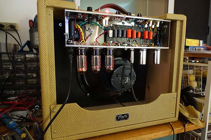 Trinity Amps Testing