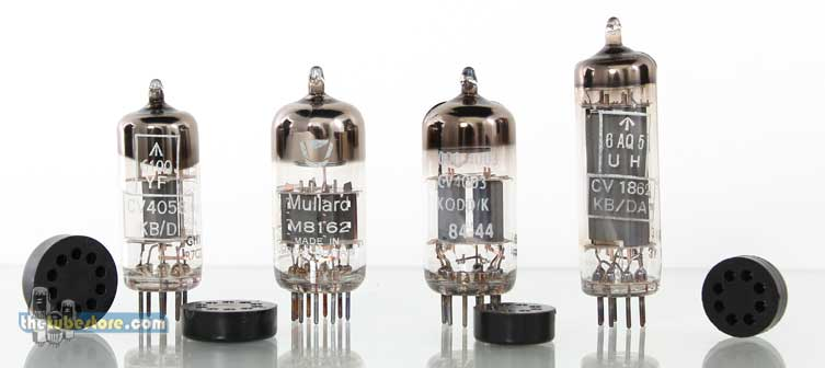 Missing Vacuum Tube Pins